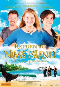 Return To Nim's Island - final Australian film poster