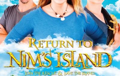 Return To Nim's Island - final Australian film poster